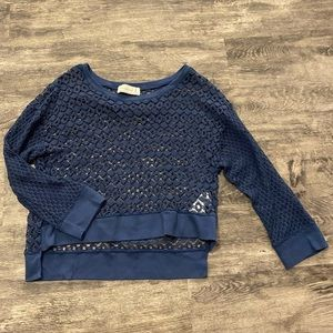 Abercrombie and Fitch Navy Sweater